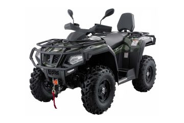 Hisun Forge 550 ATV Army Green front
